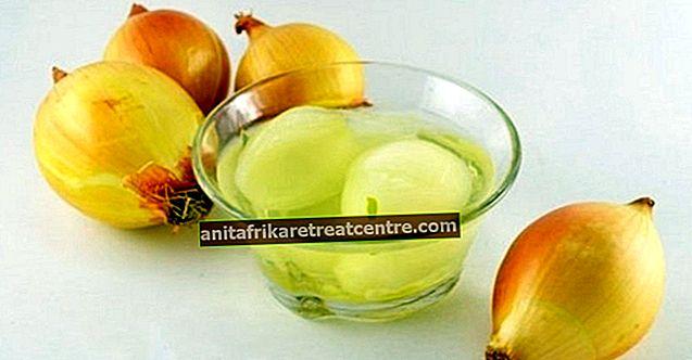 Apa manfaat jus bawang merah, untuk apa digunakan? Apakah air bawang melemah, apa fungsinya?