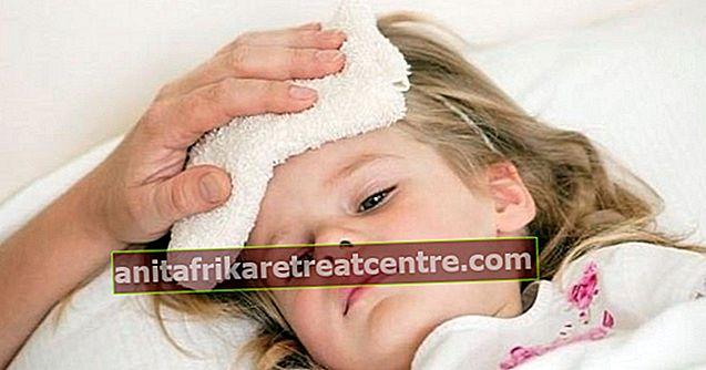 Come passare la diarrea nei bambini, come ridurre la febbre nei bambini?